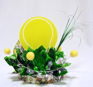 Tennis Have a Ball Centerpiece
