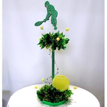 Tennis Having a Ball Centerpiece