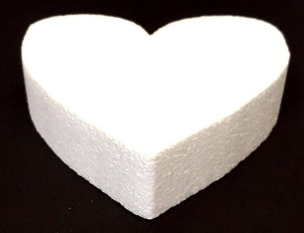 Styrofoam Heart Shape