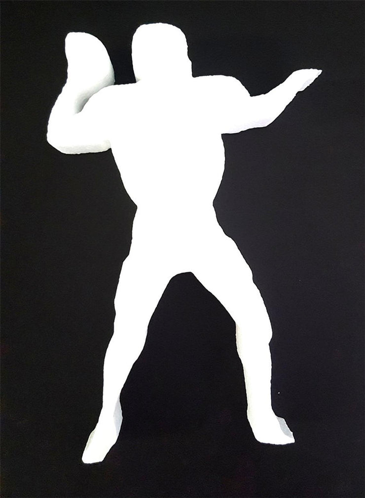 Football Quarterback Cut Out