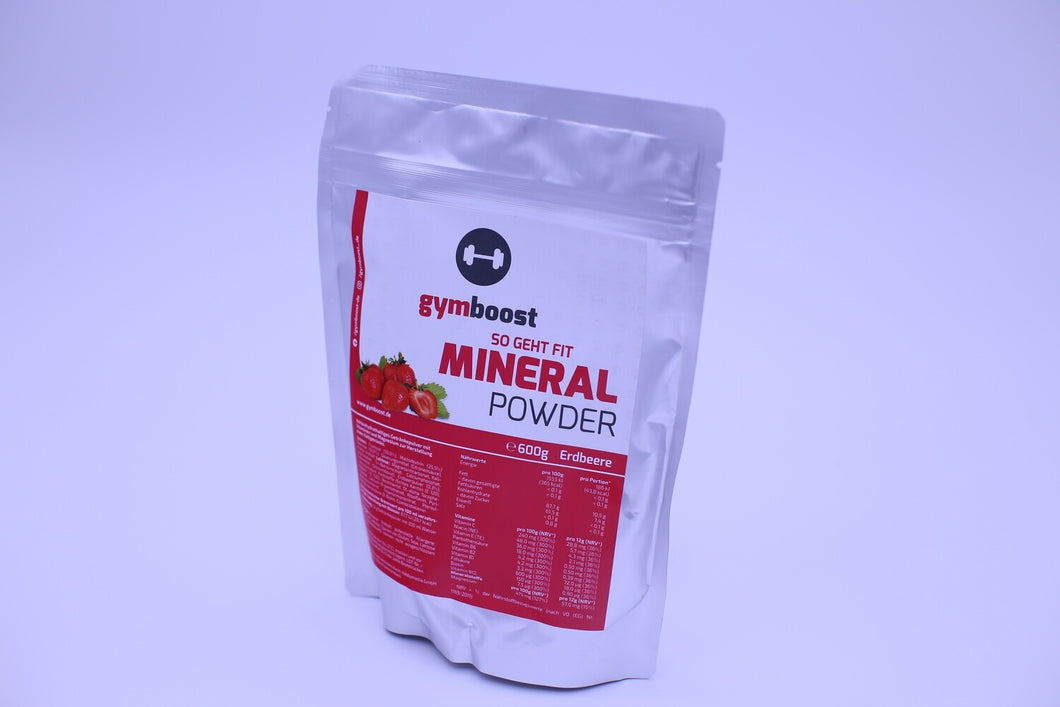 gymboost Premium Mineral-Power-Powder