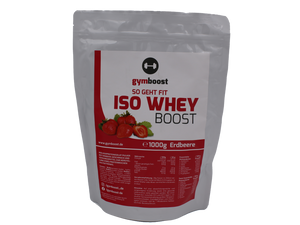"gymboost Premium ISO WHEY Protein Booster ""Erdbeere"""