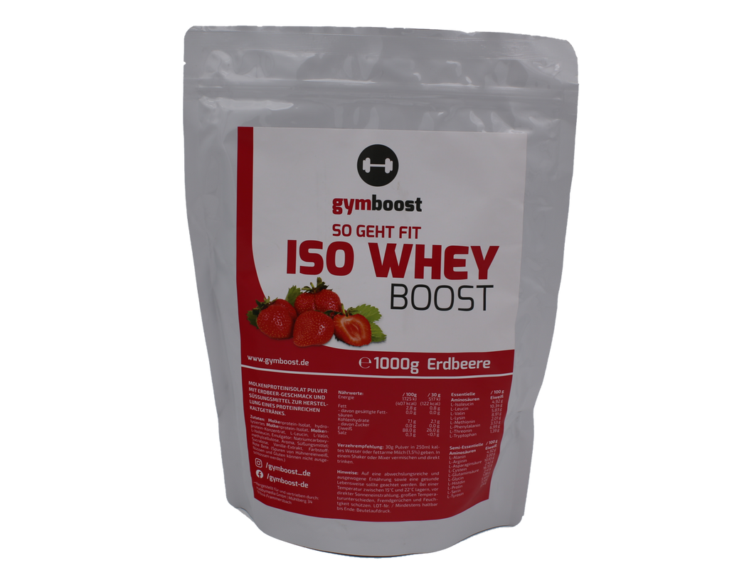 gymboost Premium ISO WHEY Protein Booster