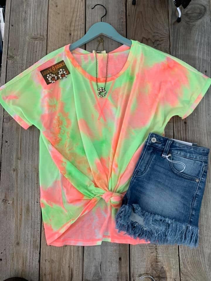 Summer Splash Tie Dye Tee