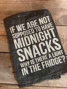 Midnight Snacks Tea Towel