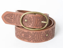 Load image into Gallery viewer, Embroidered Belt - 2 Color Options