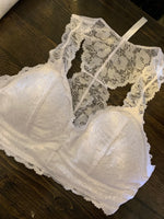 Lace Bralette - Padded