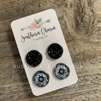 Druzy & BoHo Earring Set