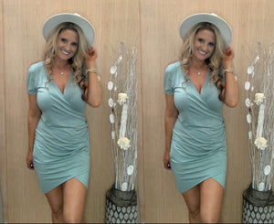 Night Out Dress - Dusty Sage