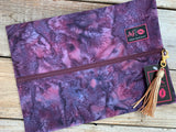 Makeup Junkie - Serenity Purple Bag