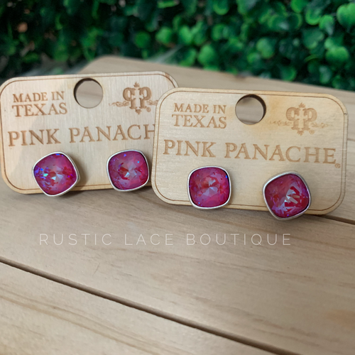 Pink Panache Perfectly Pink Stud Earrings