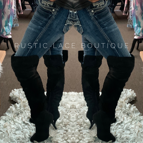 Pretty Woman Knee Boots