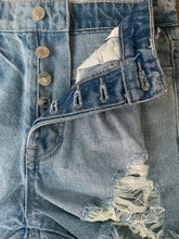 Load image into Gallery viewer, Sasha High Rise Distressed Shorts
