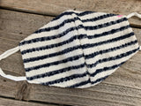 Woven Mask- Striped