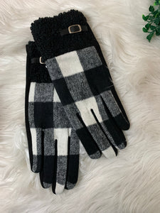 Buffalo Plaid Smart Touch Gloves