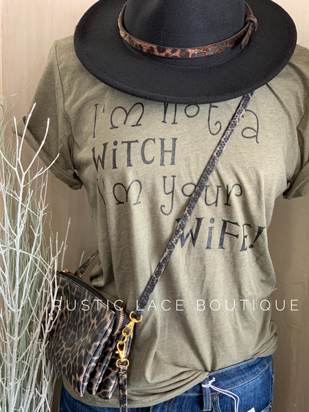 I'm not a witch tee