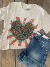Load image into Gallery viewer, Wild Cactus Heart Tee