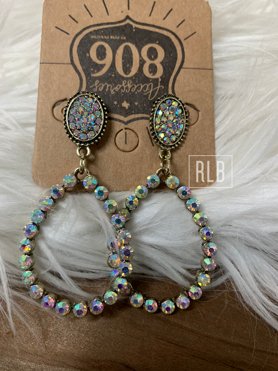 AB Dangle Earrings