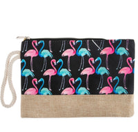 Seeing Double Flamingo Bag