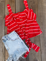 Striped Red Tank