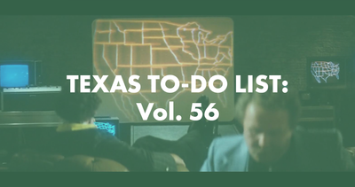 Texas To-Do List: Vol. 56