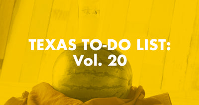 Texas To-Do List: Vol. 20