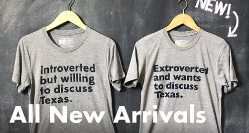 Clothing for the Texan state of mind