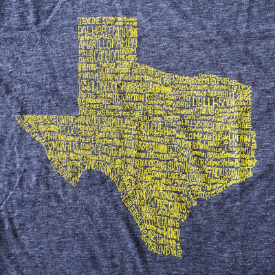 Texas Towns T-shirt