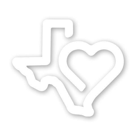 Heart of Texas Decal