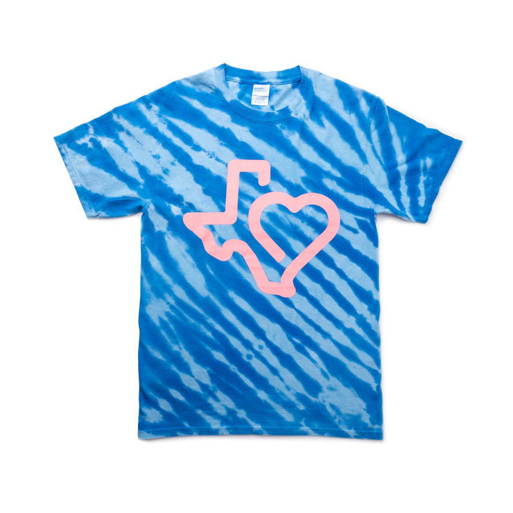 Heart of Texas Tie Dye T-Shirt