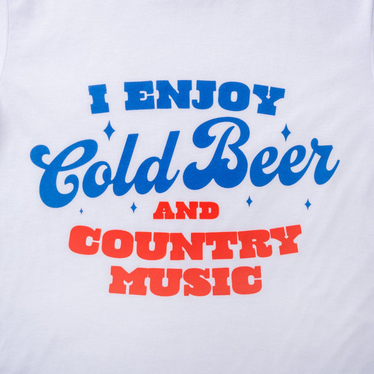 I Enjoy Cold Beer & Country Music T-Shirt