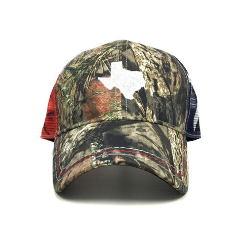 Mossy Oak Texas Flag Trucker Hat - Texas Humor Store - 2