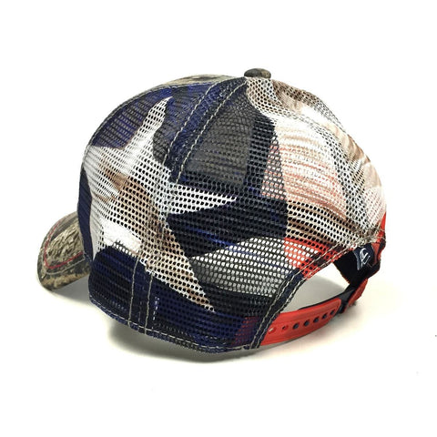 Mossy Oak Texas Flag Trucker Hat - Texas Humor Store - 3