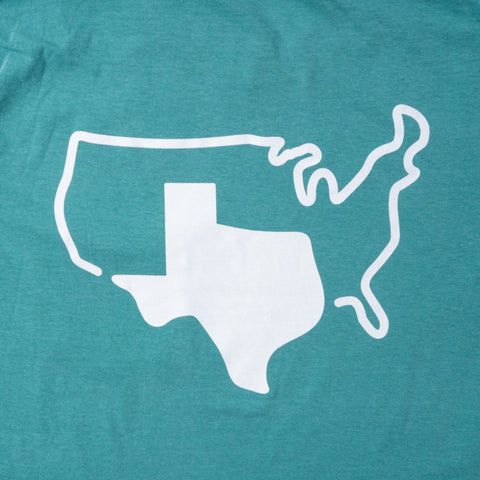 Grand Texas Seafoam Pocket T-Shirt