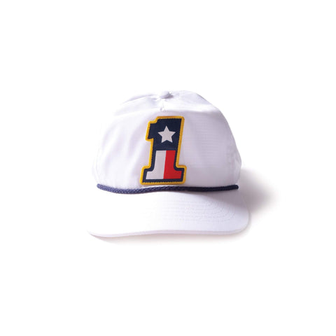 #1 Texas Flag Rope Hat