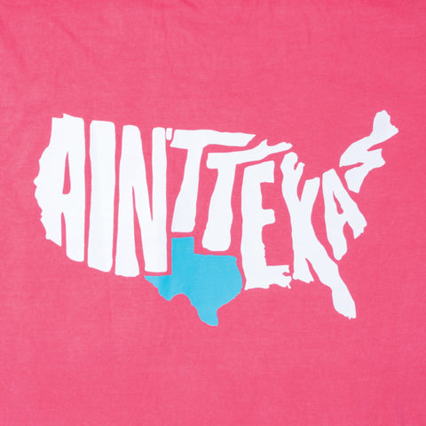 Ain't Texas Watermelon Pocket T-Shirt