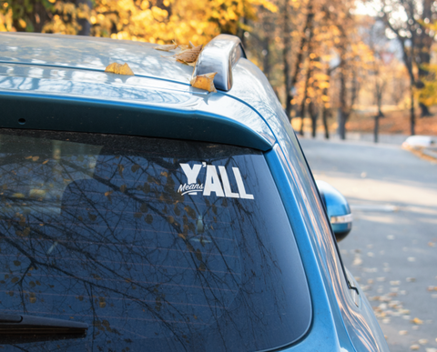 Y'all Means All Decal