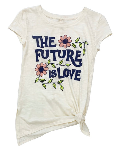 The Future Is Love Side Tie Top