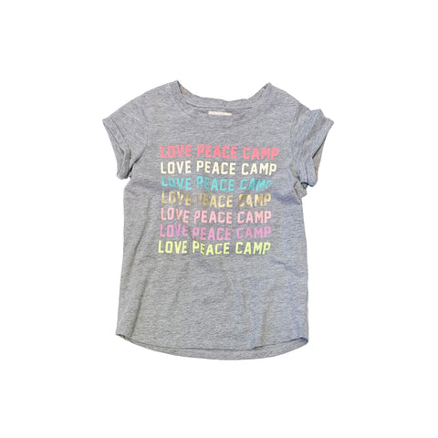 LOVE PEACE CAMP Tee