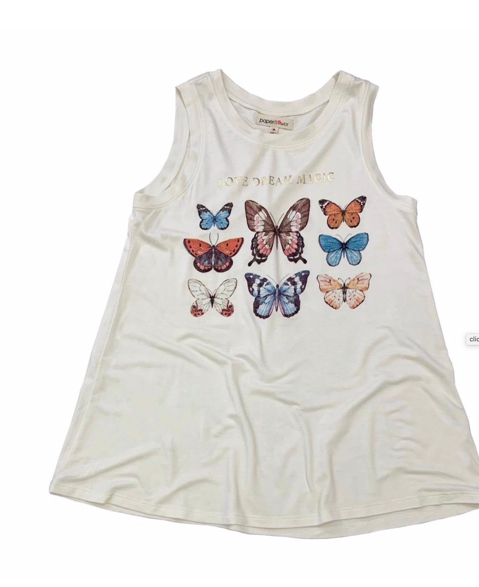 Love Dream Magic Butterfly Tank