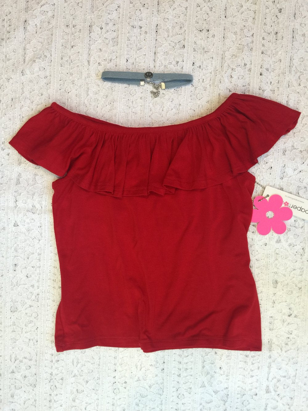 Limited Edition Chloe Ruffle Top