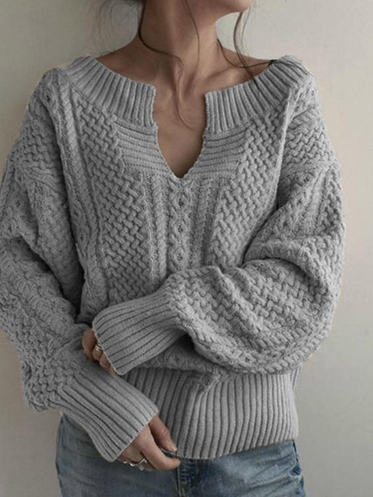 V-Neck Standard Sweater