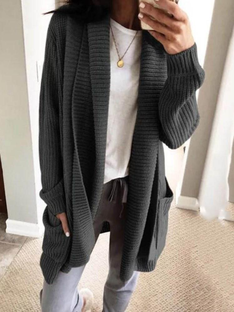 Mid-Length Winter Sweater