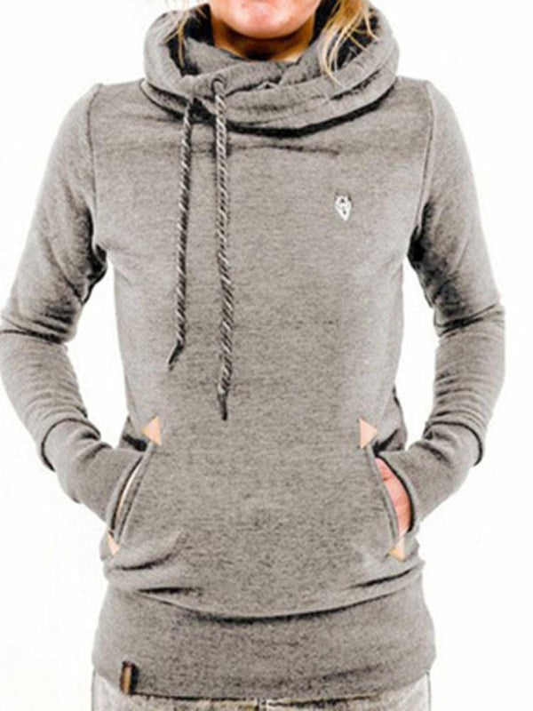 Pocket Fleece Long Sleeve Hoodie