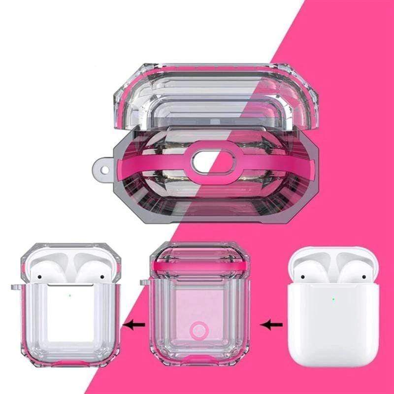 Sense Pro Etui de protection Rose bonbon Boîtier de protection Future transparent Sense Pro