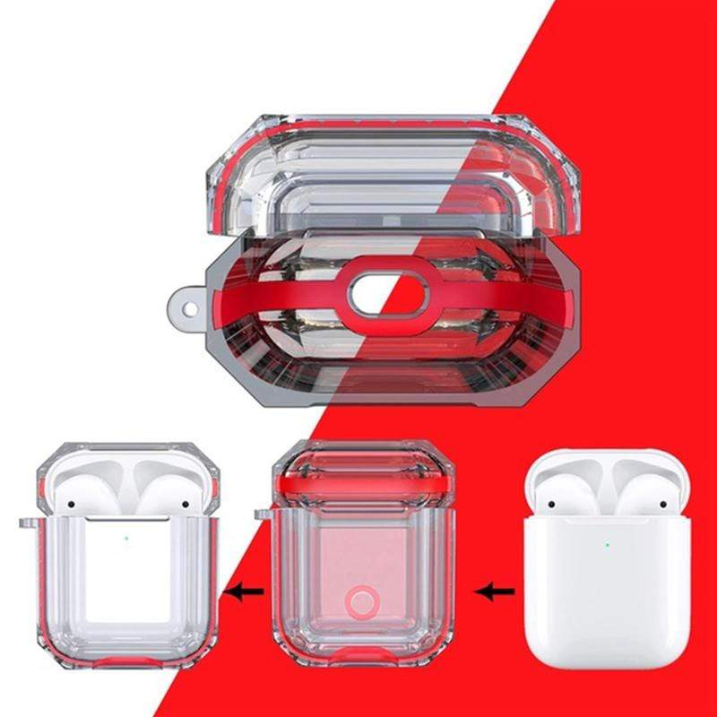 Sense Pro Etui de protection Rouge Boîtier de protection Future transparent Sense Pro