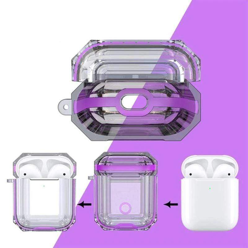 Sense Pro Etui de protection Violet Boîtier de protection Future transparent Sense Pro