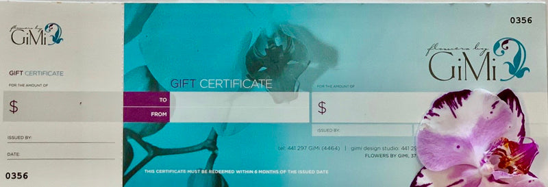 GiMi Gift Certificate