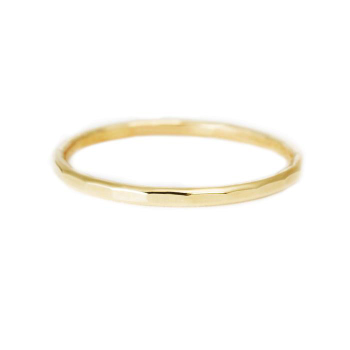 Item No.R0001 Hammered Stacking Ring