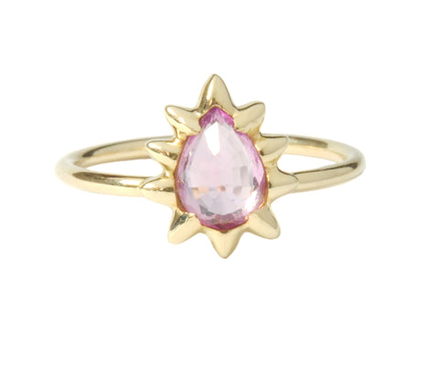 Lilac Sapphire Ring